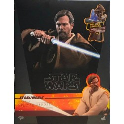 Hot Toys Star Wars: Episode III Revenge of the Sith 1/6 Scale Obi-Wan Kenobi Deluxe Version