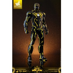 Hot Toys Iron Man 2 1/6 Scale Diecast Neon Tech Iron Man 2.0