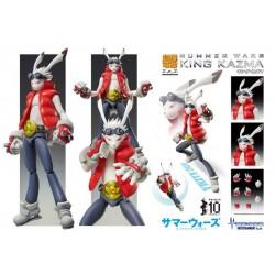 Medicos Super Action Statue Summer Wars King Kazuma Ver.1