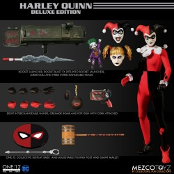 Mezco The One: 12 Collective Harley Quinn Deluxe Edition