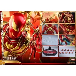 Hot Toys Marvel's Spider-Man 1/6 Scale Spider-Ma (Iron Spider Armor)