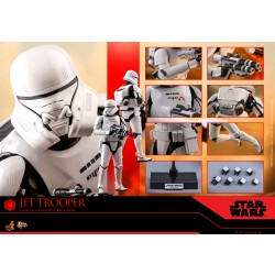 Hot Toys Star Wars: The Rise of Skywalker 1/6 Scale Jet Trooper