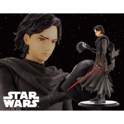 Kotobukiya ARTFX Artist Series Star Wars Episode VII: The Force Awakens 1/7 Kylo Ren -Cloaked in Shadows-
