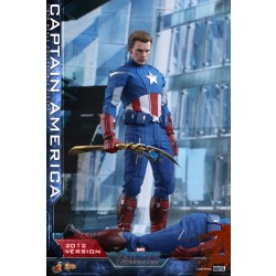 Hot Toys Avengers: Endgame 1/6 Scale Captain America (2012 Version)