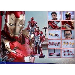 Hot Toys Spider-Man: Homecoming 1/6 Scale Diecast Iron Man Mark XLVII (Mark 47) Reissue
