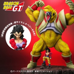 Plex Dragon Ball GT Great Monkey Baby and Super Saiyan 4 Son Goku Special version with Vegeta