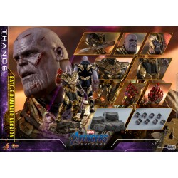 Hot Toys Avengers: Endgame 1/6 Scale Thanos Battle Damaged Version
