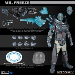 Mezco Toyz One:12 Collective Mr. Freeze Deluxe Edition