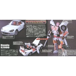 Transformers Binaltech  BT-21 Cybertron Arcee feat. Honda S2000 Hardtop (FREE Shipping)