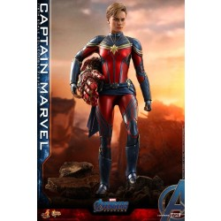 Hot Toys Avengers: Endgame 1/6 Scale Captain Marvel
