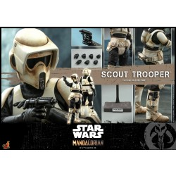 Hot Toys The Mandalorian 1/6 Scale Scout Trooper