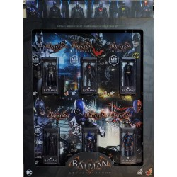 Hot Toys Batman: Arkham Knight Armory Miniature Collectible Set