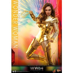 Hot Toys Wonder Woman 1984 Golden Armor 1/6 Scale Wonder Woman Deluxe Version