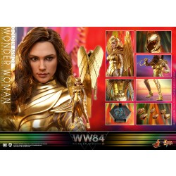 Hot Toys Wonder Woman 1984 Golden Armor 1/6 Scale Wonder Woman Regular Version