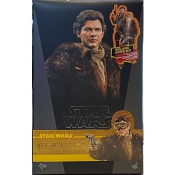 Hot Toys Solo: A Star Wars Story 1/6 Scale Han Solo Deluxe Version