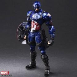 Square Enix Marvel Universe Variant Bring Arts Designed by Tetsuya Nomura Captain America