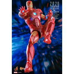 Hot Toys 2020 Toy Fair Exclusive 1/6 Scale Iron Man 2: Iron Man Mark IV (Holographic Version)