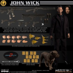 Mezco Exclusive One:12 Collective John Wick: Chapter 2 Deluxe Edition