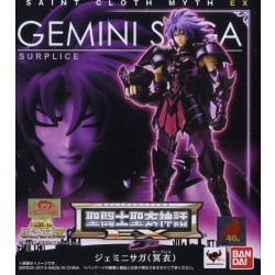 Saint Seiya Myth Cloth EX Gemini Saga Surplice Japan version