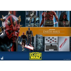 Hot Toys Star Wars: The Clone Wars 1/6 Scale Darth Maul