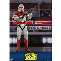Hot Toys Star Wars: The Clone Wars 1/6 Scale Coruscant Guard