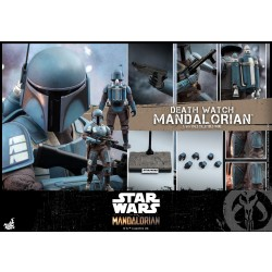 Hot Toys The Mandalorian 1/6 Scale Death Watch Mandalorian