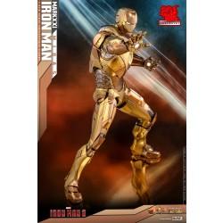 Hot Toys Exclusive Iron Man 1/6 Scale Diecast Mark XXI (Midas)