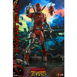 Hot Toys Marvel Zombies  1/6 Scale Zombie Deadpool