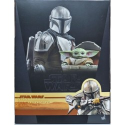 Hot Toys The Mandalorian 1/6 Scale the Mandalorian & The Child Set 豪華版