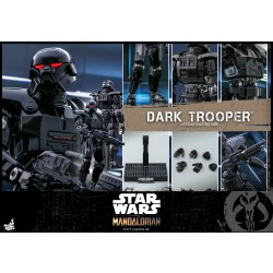 Hot Toys Star Wars: The Mandalorian 1/6 Scale Dark Trooper