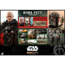 Hot Toys Star Wars: The Mandalorian 1/6 Scale Boba Fett (Deluxe Version)
