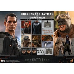 Hot Toys Zack Snyder's Justice League 1/6 Scale Knightmare Batman & Superman