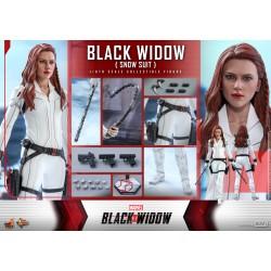 Hot Toys Black Widow 1/6 Scale Black Widow (Snow Suit Version)