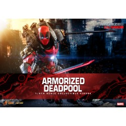 Hot Toys Armorized Warrior Collection 1/6 Scale Armorized Deadpool diecast Special Edition