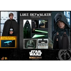 Hot Toys Star Wars: The Mandalorian 1/6 Scale Luke Skywalker Special Edition