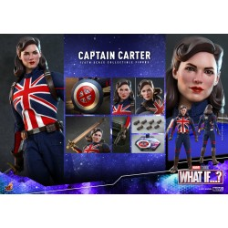 Hot Toys Marvel What If...? 1/6 Scale Captain Carter