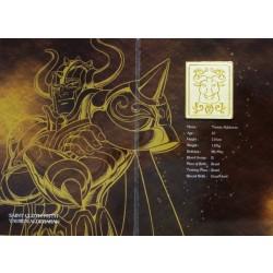 Saint Cloth Myth Taurus Aldebaran Old Metal Plate