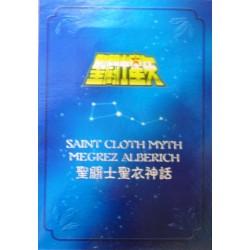 Saint Seiya Myth Cloth God Warriors Megrez Delta Alberich  New metal plate