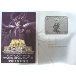 Saint Cloth Myth Wyvern Rhadamanthys new metal plate