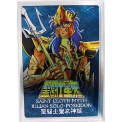 Saint Seiya Myth Cloth Poseidon new metal plate