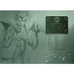Saint Cloth Myth Zeta Alcor Bud new metal plate