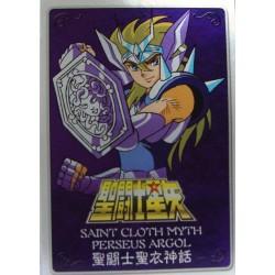 Saint Seiya Myth Cloth Perseus Algol new metal plate