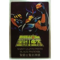 Saint Seiya Myth Cloth Black Phoenix New Metal Plate