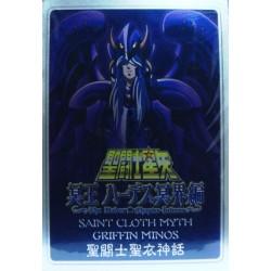 Saint Seiya Myth Cloth Griffin Minos  New Metal Plate