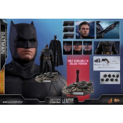 Hot Toys Justice League 1/6 Scale Batman Deluxe Version