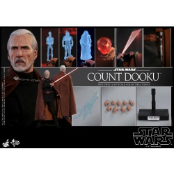 Hot Toys Star War Episode II: Attack of the Clones 1/6 Scale Count Dooku