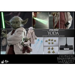 Hot Toys Star War Episode II: Attack of the Clones 1/6 Scale Yoda