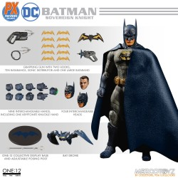 Mezco One:12 Collective DC PX Previews Exclusive Sovereign Knight Batman Blue Version