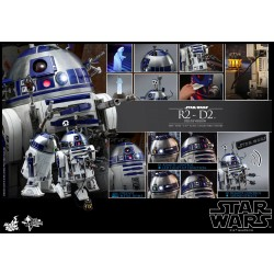 Hot Toys Star Wars 1/6 Scale R2-D2 Deluxe Version