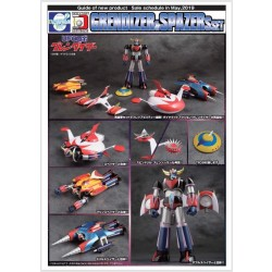 Evolution Toy Dynamite Action! Grendizer & Spazers Set